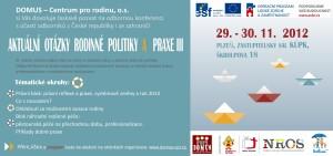 POZVÁNKA konference DOMUS 2012