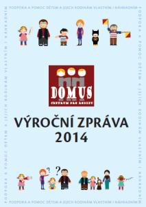 výroční zpráva  2014 obal